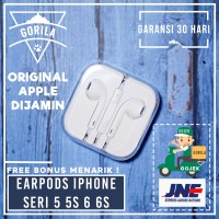 [HOT] Earphone Apple Iphone 5 Ipad ORIGINAL ! Handsfree / Headset