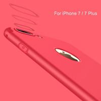 slim silicone iphone 7 /7+ case red/ iphone case 7/ casing iphone 7