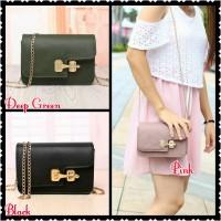 Jual Tas Import Wanita Fashion Korea Selempang Pesta Branded Sale 21937 Murah