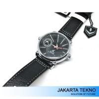 Jual Jam Tangan Pria Weide Dual Time Zone 30M UV1508 Black/Silver Murah
