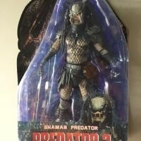 BAGUS Shaman Predator 2 Unmasked Spear dan Tombak BY NECA ORIGINAL