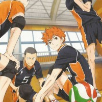 Poster Anime Haikyuu Kageyama Tobio Hinata Shoyo Kei Karasuno Team