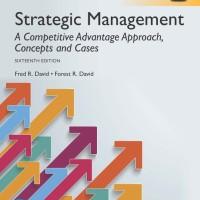 Strategic Management: A Competitive Advantage Aproach Concept and Case