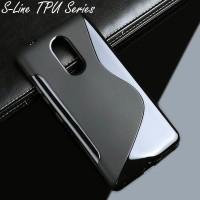 harga S-line Tpu Case Lenovo K6 Note Black Soft Back Cover Tokopedia.com