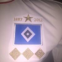 JERSEY RETRO HAMBURG SV HOME 2012-2013 GRADE ORI
