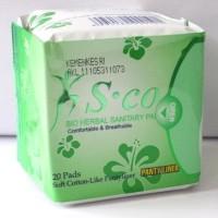 Jual Pembalut Herbal SCO Murah Pantyliner/sco hijau Murah