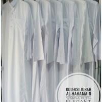 Jual Gamis/Jubah Pria Al Haramain ASLI SAUDI / Warna Putih / GRATIS PECI Murah
