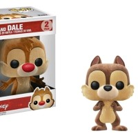 Jual Funko POP! Disney - Chip & Dale (Flocked) (2-Pack) (SDCC Exclusive) Murah
