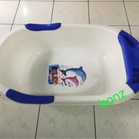 Jual baby bath tub/bak mandi bayi murah seken Murah