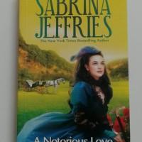 Jual A Notorious Love - Terbuai Cinta - Sabrina Jeffries Murah
