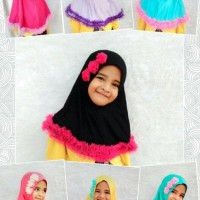 Jual jilbab anak/jilbab instan/kerudung anak/kerudung instan anak Murah
