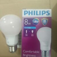 Jual LAMPU PHILLIPS LED 8 WATT Murah