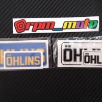 Stiker OHLINS