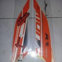 striping motor kawasaki Ninja RR250mono orange