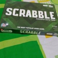 mainan edukatif populer scrabble board game