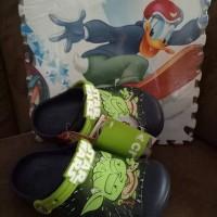 sandal crocs anak cowok asli bukan tiruan
