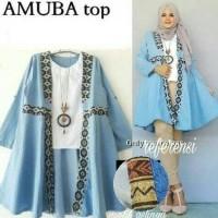 Jual vintage batik tunik atasan baju blouse wanita cardigan kimono bluss Murah