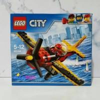 Jual LEGO CITY 60144 Great Vehicles Race Plane Building Kit ORIGINAL Murah