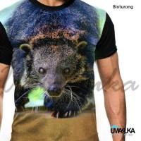 Fashion Pria / Kaos Full Print Umakuka - Binturong
