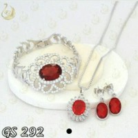 Jual ( GS 292 ) Set Perhiasan / Xuping asli / Lapis emas Murah