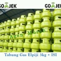 harga Tabung Gas Elpiji + Isi 3kg Melon Lpg Selang Kompor Tokopedia.com