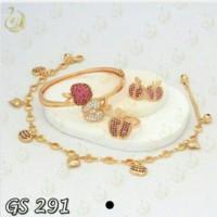 Jual ( GS 291 ) Set Perhiasan / Xuping / Lapis emas Murah