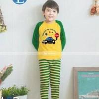 SALE - GW143 #E (baju tidur anak import - LED shirt)