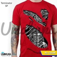 Baju Kaos Pria kaos 3D Umakuka Bandung - Terminator SP
