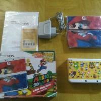 Jual NEW Nintendo 3DS Super mario edition mulus CFW 16GB fullset Murah
