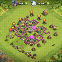 Akun Clash of clans TH7