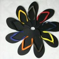 Jual Sandal jepit /sendal jepit karet murah warna warni Murah