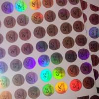 Sticker stickers stiker hologram qc passed pass label segel