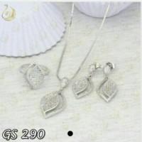 Jual ( GS 290 ) Set Perhiasan / Xuping / Lapis emas Murah