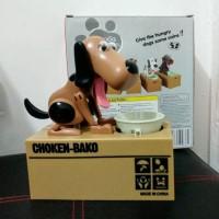 Jual Celengan Koin Choken Bako Anjing My Dog Piggy Bank Murah