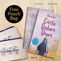 buku Cinta dalam Diam Free Pouch Bag