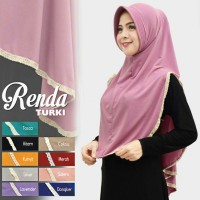 Jual Hijab Renda Turki Pad Antem Murah Premium Murah