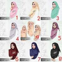 Jual Kerudung/Hijab Instant 2faces Tazkia PAD Murah Premium Murah