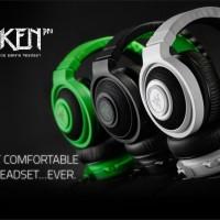 Jual Razer Kraken Pro 2015 Analog Gaming Headset Black / Green / White Murah