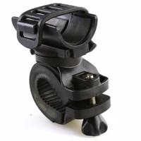Jual Bracket Senter Sepeda 360 Degree With Belt Braket / Mounting Murah