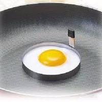 Jual Round Egg Shaper / Cetakan Telur Bentuk BULAT Stainless Steel Murah