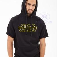 Jual Premium Short Hoodie Star wars - Jacket Pendek - Xavier Cloth - Best Murah