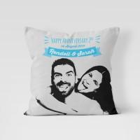 Bantal Custom 40x40 hadiah unik ulang tahun pacar pillow sofa murah