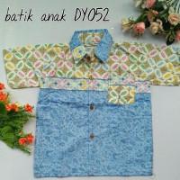 Kemeja Batik Anak Biru  Dy052