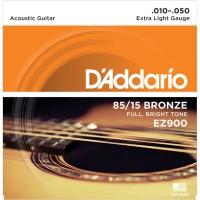 Daddario EZ900 010 Senar Gitar Acoustic D'addario Akustik Original USA