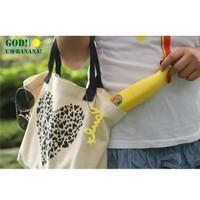 Jual Creative Banana Umbrella UV Protection - Payung Pisang - Yellow Murah