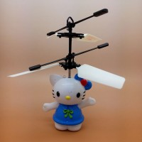 Jual New  #IA004 - Flying Toy Mainan Anak Terbang Minion Hello Kitty Frozen Murah