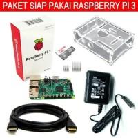 Jual Promo Paket Siap Pakai Raspi Raspberry Pi3 Berkualitas 20170819 Murah