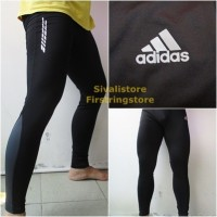 Celana Panjang Baselayer Adidas Techfit Jogging Gym Futsal dll Murah