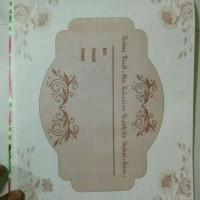 Souvenir Pernikahan Buku Tamu
