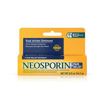 Neosporin + Pain Relief Dual Action Ointment 0.5 Oz 14.2 gr Ready
